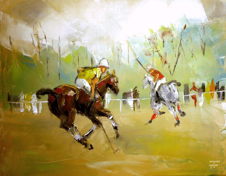 THIERRY FAURE - Polo-devant-le-bois-